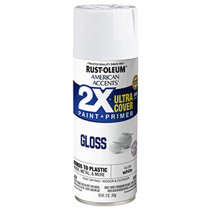 Gloss White American Accents 2X Ultra Spray Paint