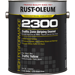 Rustoleum Yellow Traffic Paint Gallon