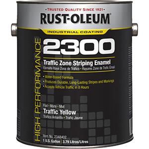 Rustoleum Yellow Traffic Paint Gallon
