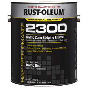 Rustoleum 2300 Red Traffic Paint Gallon