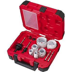 15-Piece Hardened General Purpose Hole Saw Kit